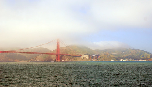 Foggy Golden Gate Bridge