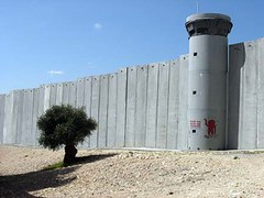 Bethlehem is now under control of palastine and is surrounded by a wall like all other palastine area