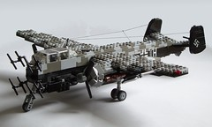 Heinkel He-219 Uhu (7) (Mad physicist) Tags: germany lego aircraft wwii heinkel ww2 nightfighter