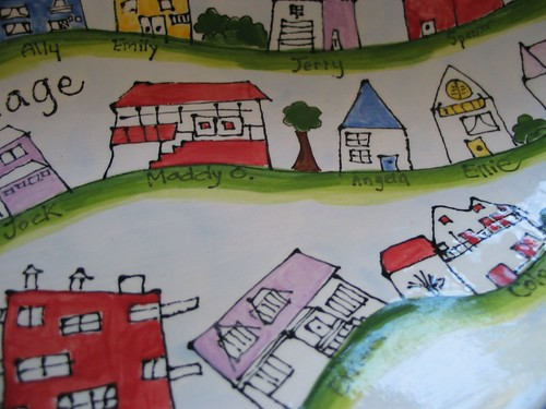 village platter detail2