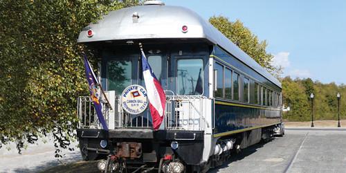 Private Rail Car - Cannon Ball