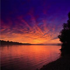 Dunaparti napnyugta