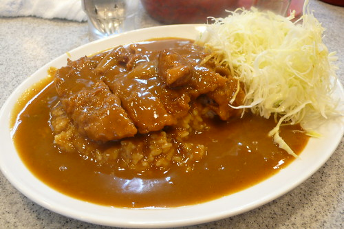 Curry Rice With Pork Cutlet