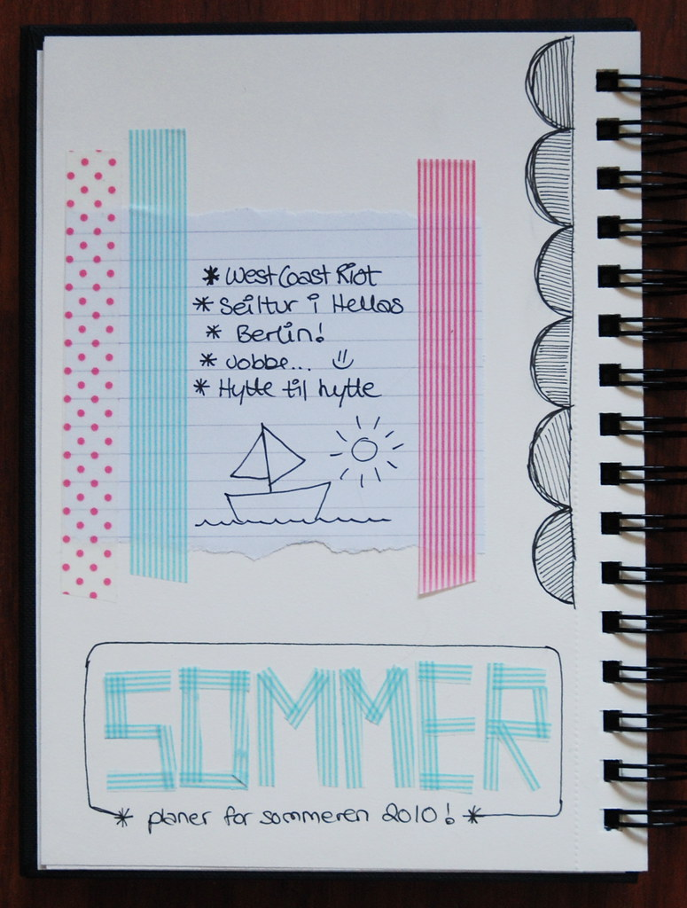 May 8th - A page about summer