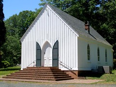 Bremo Slave Chapel 1 (Universal Pops ( Computer Died)) Tags: door wood windows church virginia entrance chapel shutters africanamerican siding slave jamesriver verticality gothicrevival nationalregisterofhistoricplaces pointedarch boardandbatten fluvannacounty johnhartwellcocke bremobluff bremoplantation cockefamily