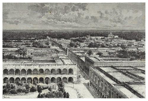022-Vista panoramica de Merida-Les Anciennes Villes du nouveau monde-1885- Désiré Charnay
