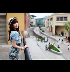 Sara (L u c a s ...) Tags: girl beautiful canon sara beijing solana ef3514l eos5dmarkii