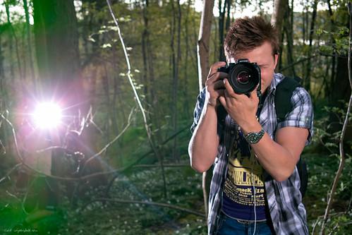 Niklas - half body shot