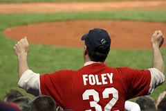 Who's Foley? (ConfessionalPoet) Tags: shirt fan dance baseball redsox fenwaypark foley