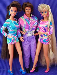 Totally Hair Family (Chicomttel) Tags: family hair 1991 mattel inc totally