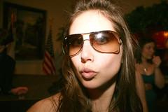 LeggWear104 (silkolive) Tags: wedding girl sunglasses flash 30d duckface