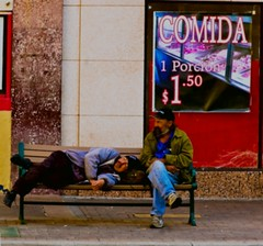 A Nap After Lunch (twbphotos) Tags: downtown comida homeless elpaso streetpeople terrybell twbphotos