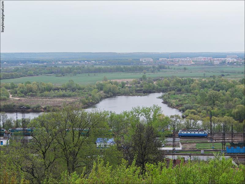Вид через Клязьму. Владимир