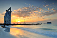 Dubai - Burj Al Arab 7 Hotel Sunset ( Saleh AlRashaid / www.Salehphotography.net) Tags: sunset seascape art beach sunrise stars landscape hotel photo nikon long exposure dubai cityscape gulf state photos outdoor uae middleeast 7 emirates arab kuwait nano d3 gcc kuwaiti burj q8 saleh alarab  kuwaity          stateofkuwait    d3x leefilters  kuwaitphoto kuwaitpic q8photo  q8pic   alrashaid salehalrashaid  salehphotographynet