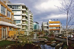 Dockside Green, certified LEED-ND platinum in Victoria, BC (by: jayscratch, creative commons license)