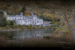 Kylemore abbey (Jerome Pouysegu) Tags: voyage trip travel blue autumn trees ireland winter wallpaper vacation portrait sky house lake france green castle art history nature abbey architecture automne canon river landscape photography vacances photo europe photographie hiver riviere lac eire bleu ciel arbres histoire jerome 5d 24 wallpapers toulouse chateau paysage maison fond irlande abbaye ecran photographe kylemore buildinds internationalgeographic pouysegu