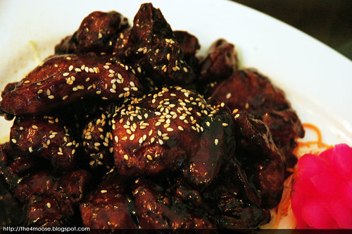 Bumbu Restaurant - Coffee Flavour Chicken