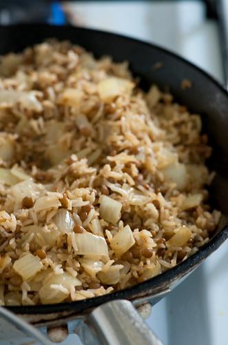 rice & lentils