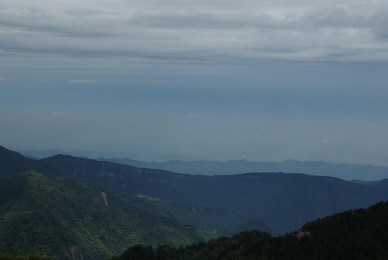 20100520春天的觀霧與聖稜線