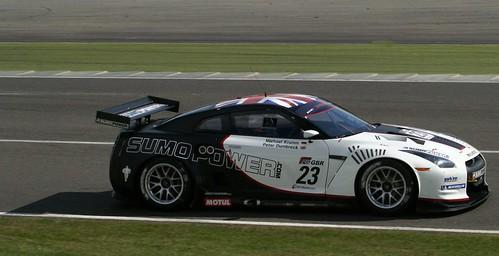 Michael Krumm - Sumo Power GT's Nissan GT-R Driven by Michael Krumm and Peter Dumbreck
