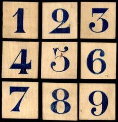 jeu abc bois chiffres