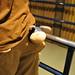 Eeyore In Chris' Back Pocket