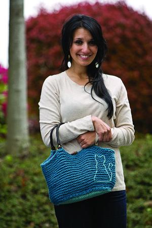 New Fickleknitter Pattern, Knit Picks Cat Bag