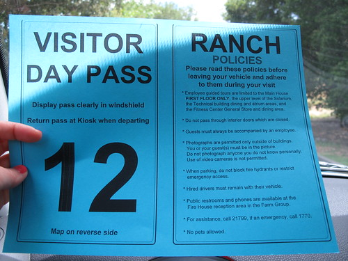 visitor day pass for skywalker ranch