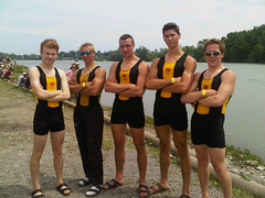 Sr boys heavy 4 win semi-final (ShawniganLakeSchool) Tags: rowing sls boardingschool shawnigan privateschool independentschool