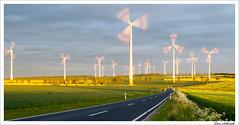 Wind farm (schmilar77) Tags: park sky clouds landscape wind himmel wolken nikkor landschaft windrad windpark stativ afsdxnikkor1870mmf3545gedif