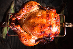 Honey Glazed Rotisserie Chicken