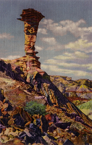 Eagle Nest rock, Petrified Forest, Arizona [P.F. 33]