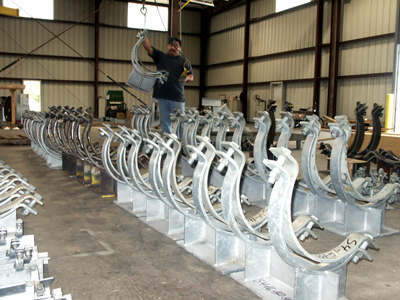 Pipe Saddles for a Refinery in Chad
