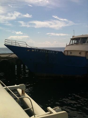 Boat in Dumaguete
