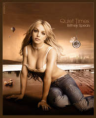 Quiet Times [Britney Spears] (Nii Riera) Tags: sexy me spears times breathe britney brit blend tranquilidad