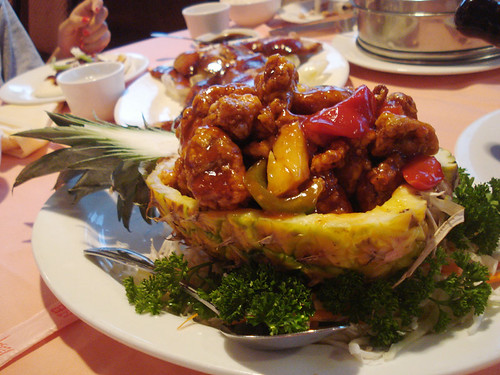 Pineapple sweet and sour