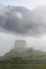 Mist over the Guard House
