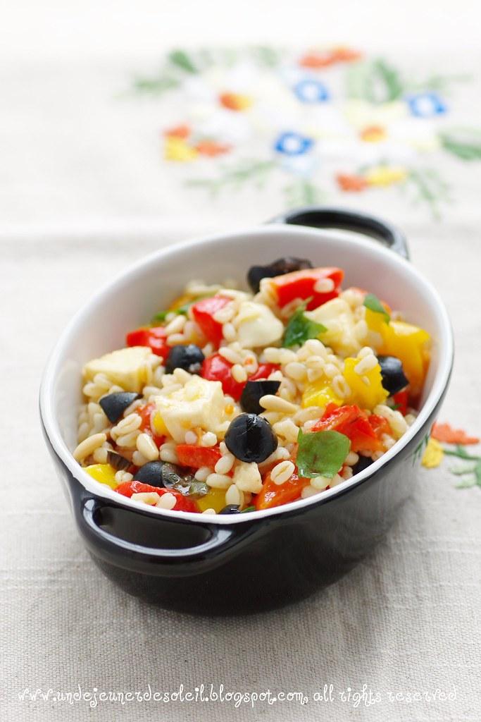 Salade de blé à l'italienne