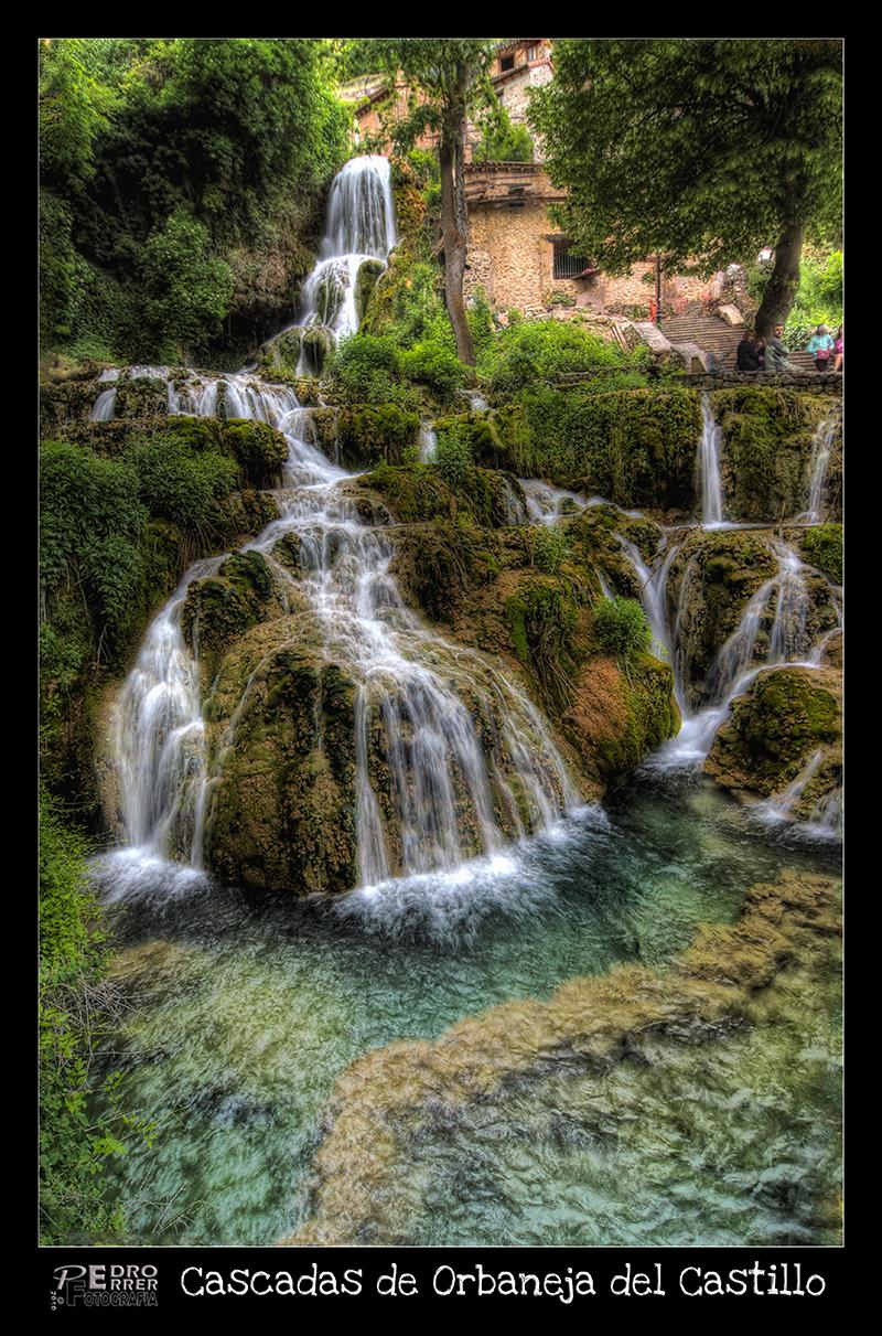 Orbaneja del Castillo - Cascadas