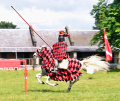 Mounted Knight at Royal Gunpowder Mills (MsTanyaUK) Tags: horse knight joust walthamabbey royalgunpowdermills