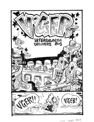 V'GER: Intergalactic Delivery Boy Cover Rough