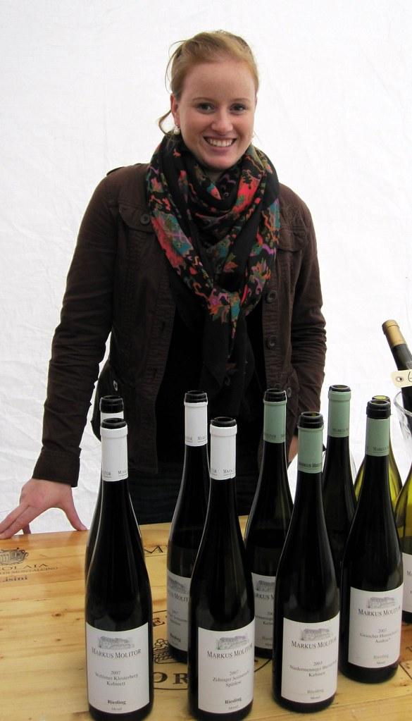 Laura Dreher from Weingut Markus Molitor