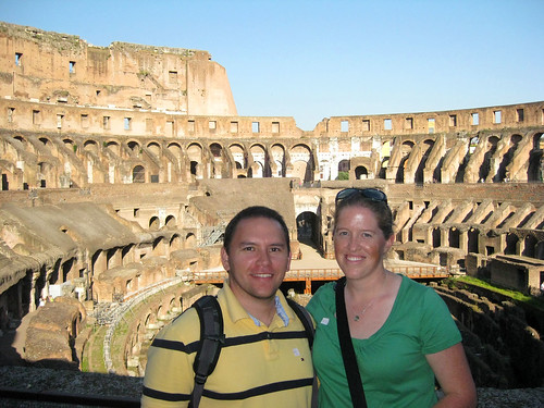 Jose & Me at the Colosseum