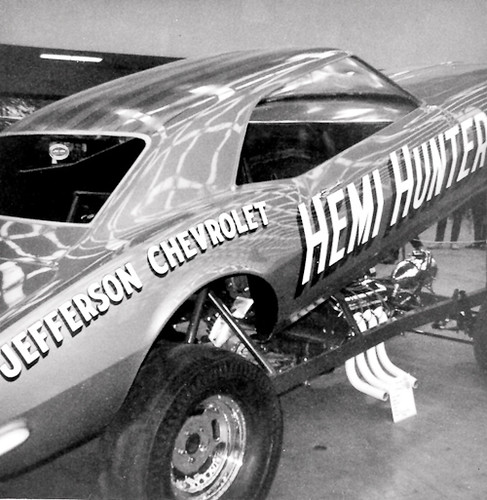 The Hemi Hunter Camaro Funny Car
