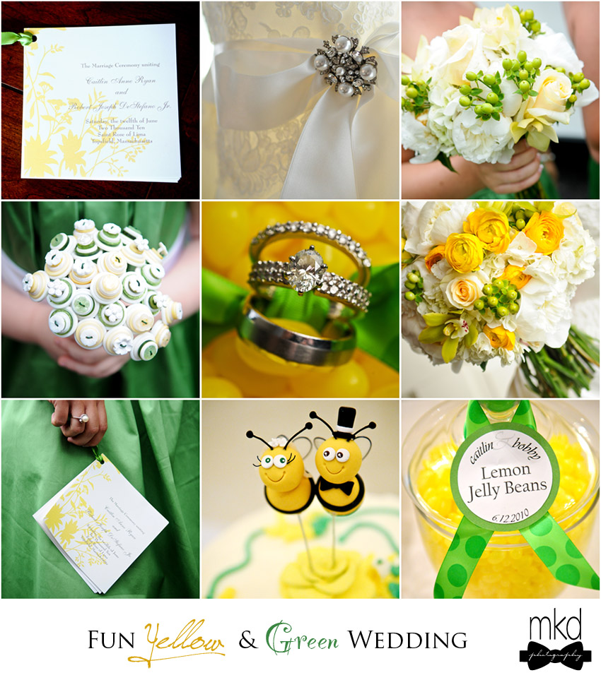 yellow and green wedding (by MKD Photography)