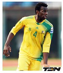 Bongani Khumalo (Defensa) (TDN Sudáfrica) Tags: africa mundial futbol fútbol 2010 defensa sudafrica bongani sudáfrica khumalo