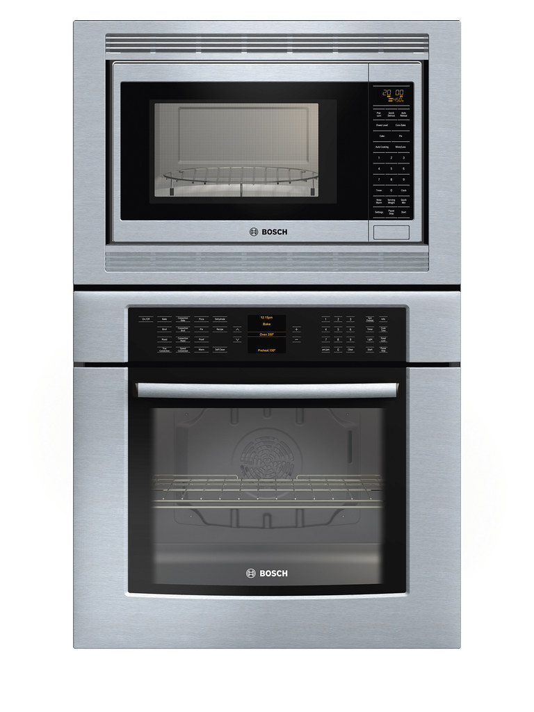 Bosch 800 Series Wall Oven and Microwave