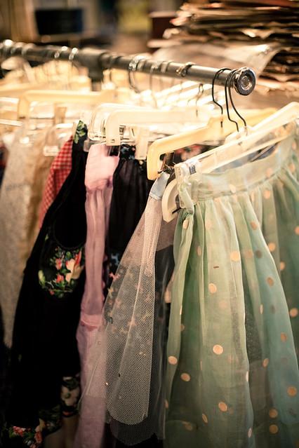 Bon Ton skirt rack