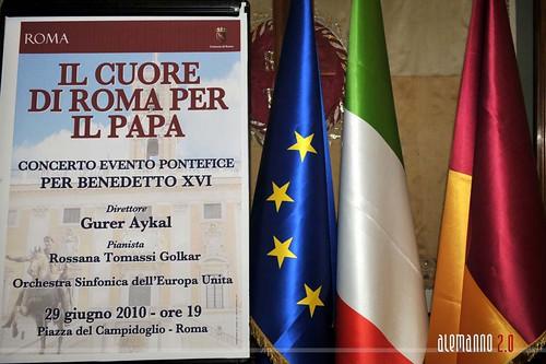 Il Cuore di Roma per il Papa