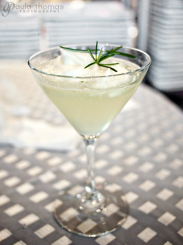 Tuscan Rosemary Drop with Honey Lemon Foam